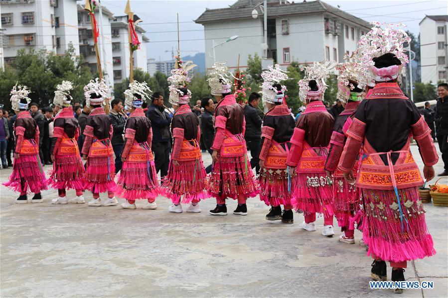 #CHINA-GUIZHOU-QIANDONGNAN-POVERTY RELIEF-MIAO PEOPLE-RELOCATION (CN)