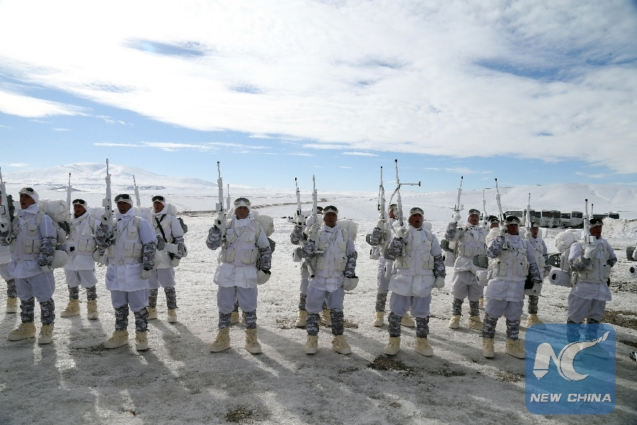 Turkey holds large int'l winter military exercise in extreme