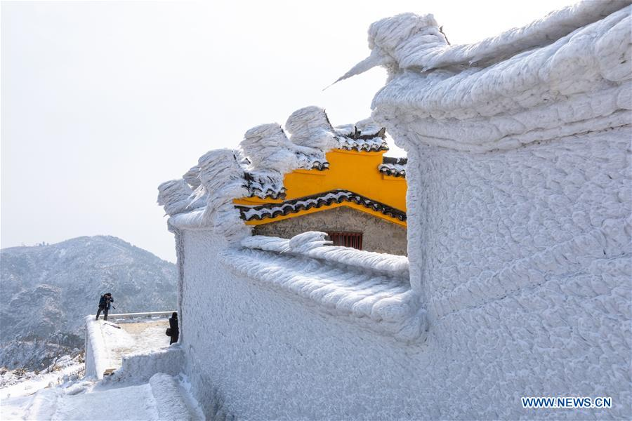 #CHINA-HUBEI-TIANTAI MOUNTAIN-SNOW(CN)