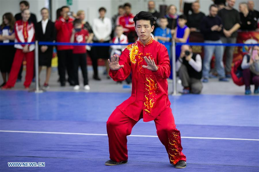 Highlights of opening ceremony for Moscow Wushu Stars 2019