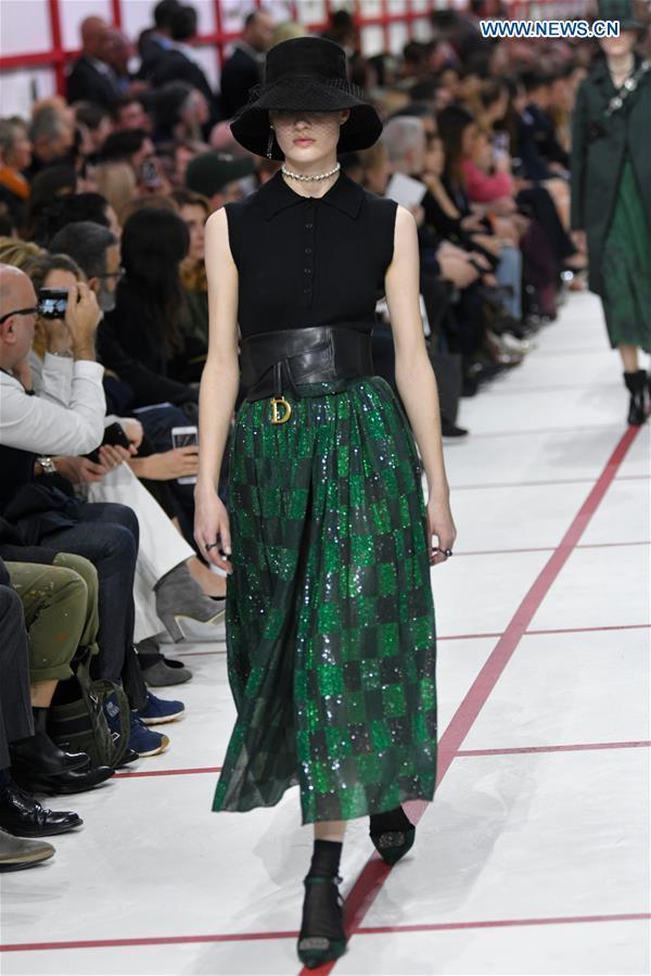 New Fall Shows 2020.Paris Fashion Week Christian Dior Fall Winter 2019 2020