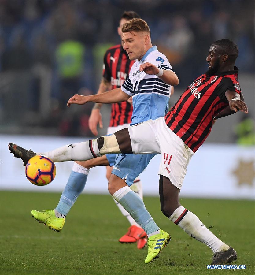 (SP)ITALY-ROME-SOCCER-ITALIAN CUP-AC MILAN VS LAZIO