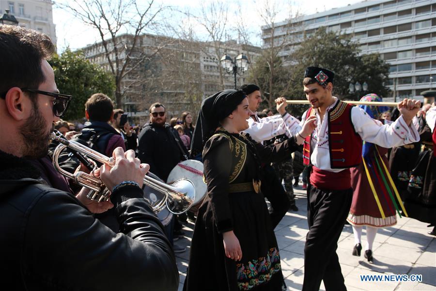 希腊 - 雅典狂欢舞
