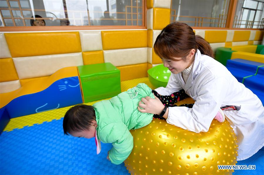 CHINA-CHANGSHA-DISABLED ORPHANS (CN)