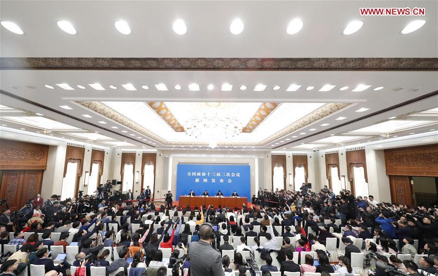 (两会)中国 - 北京 - 全国政协新闻发布会(CN)