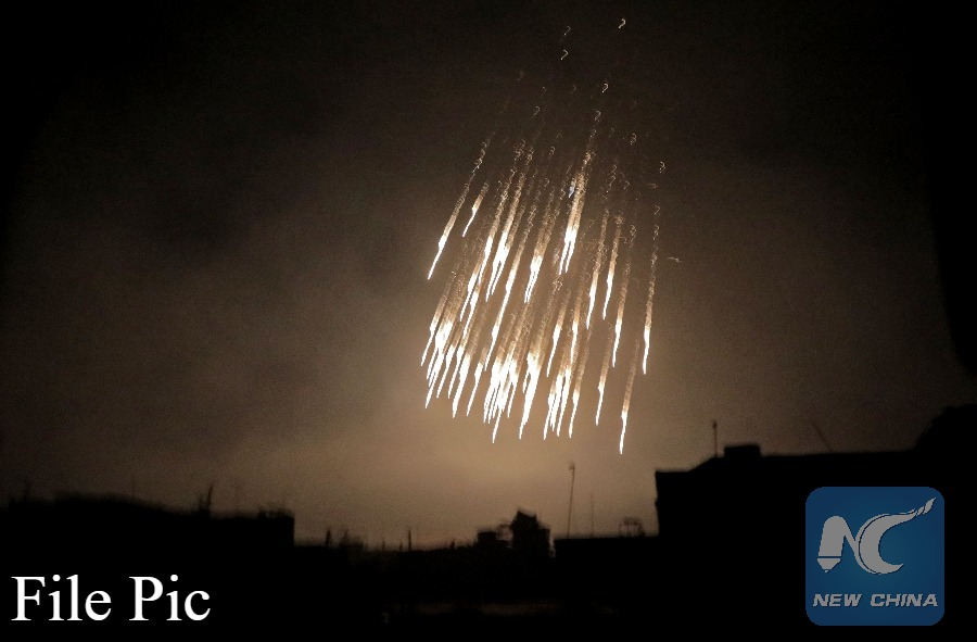 led anti-IS coalition launches deadly white phosphorus shelling in eastern Syria