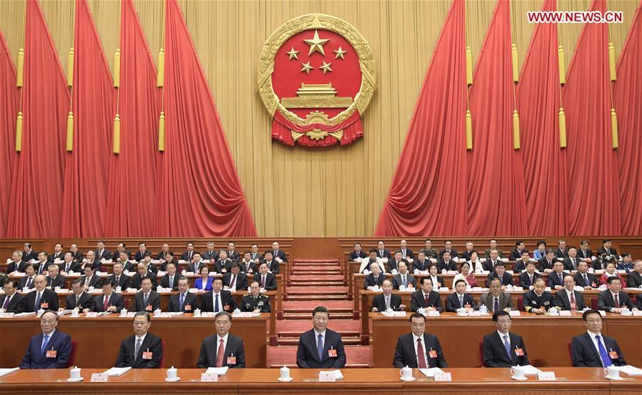 (TWO SESSIONS)CHINA-BEIJING-NPC-OPENING (CN)