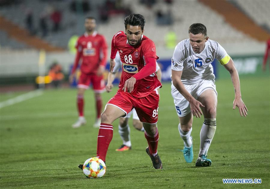 Persepolis Held To 1 1 Draw By Pakhtakor In Afc Champions League Xinhua English News Cn