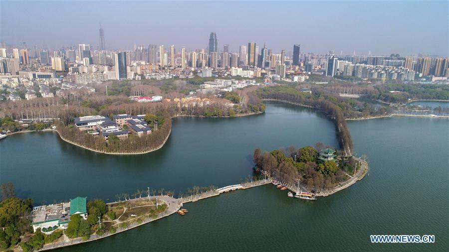 CHINA-WUHAN-EAST LAKE-SPRING (CN)
