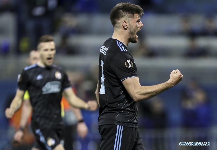Dinamo Zagreb Beats Benfica 1 0 At Uefa Europa League Match Xinhua English News Cn