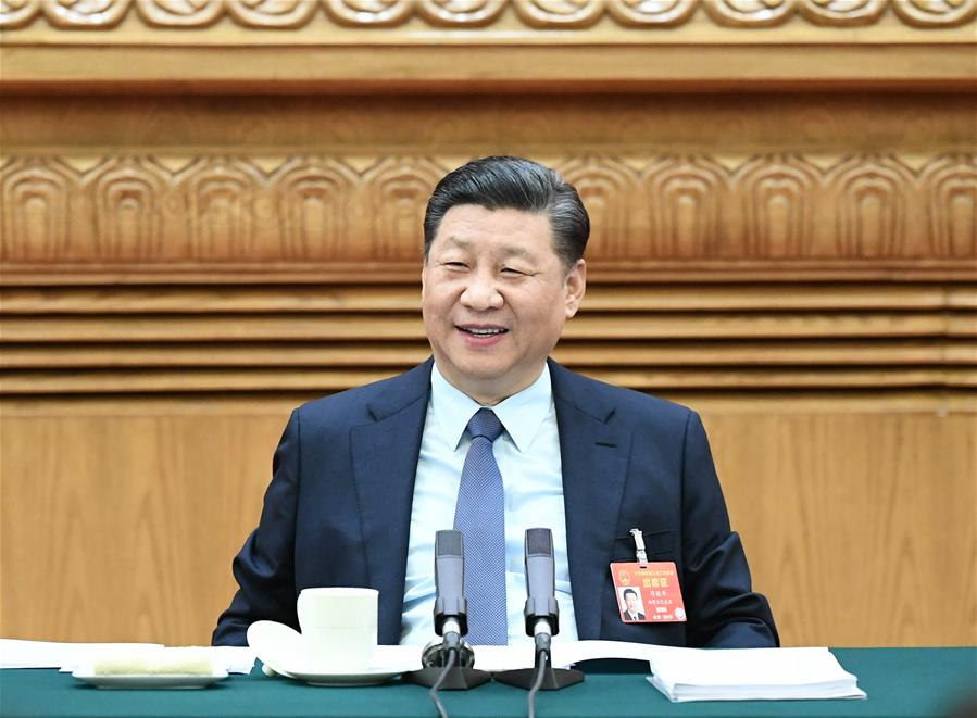 (TWO SESSIONS)CHINA-BEIJING-XI JINPING-NPC-DELIBERATION (CN)