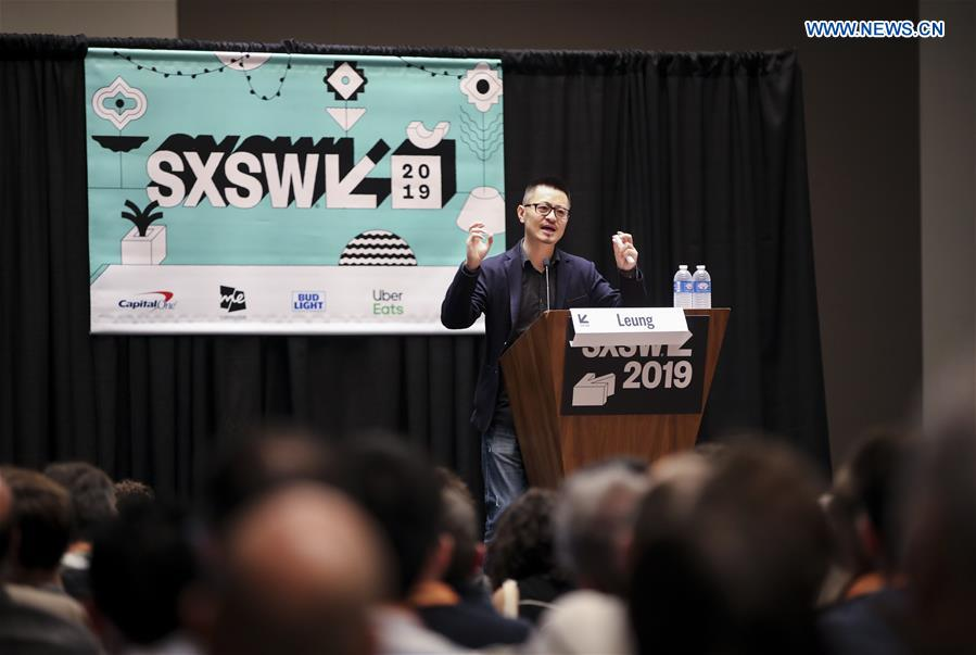 U.S.-TEXAS-AUSTIN-SXSW-CHINESE INNOVATION