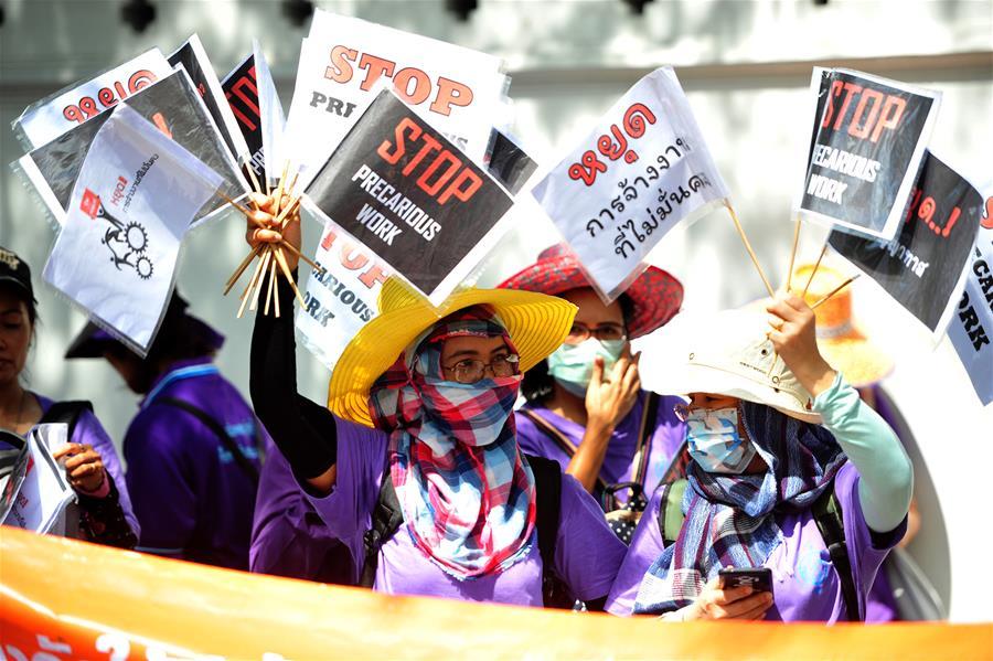 泰国 - 曼谷 - 国际妇女日游行