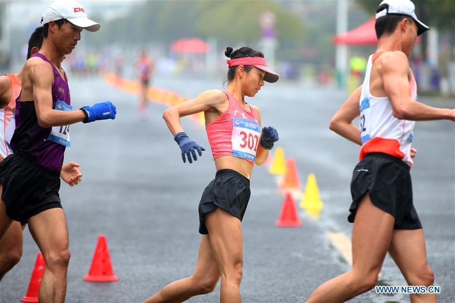 (SP)中国 - 黄山 - 运动 - 比赛步行 - 刘洪 - 世界纪录(CN)