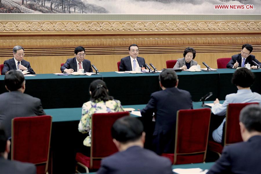 (TWO SESSIONS)CHINA-BEIJING-LI KEQIANG-NPC-DELIBERATION (CN)