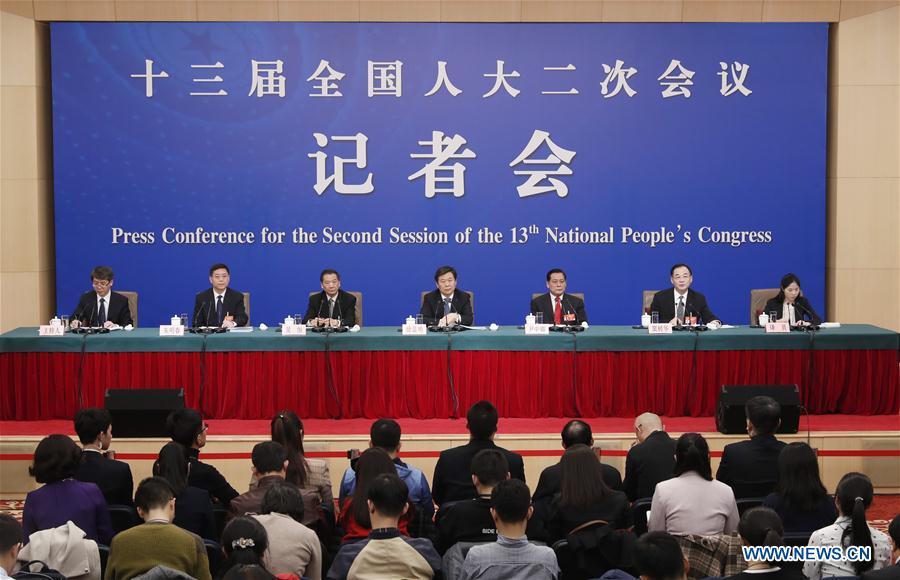 (两会)中国 - 北京 - 全国人大新闻发布会(CN)