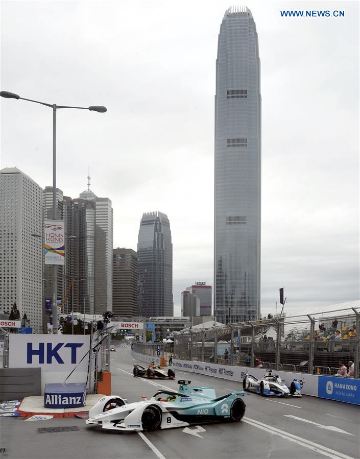 (SP)CHINA-HONGKONG-FORMULA-E锦标赛