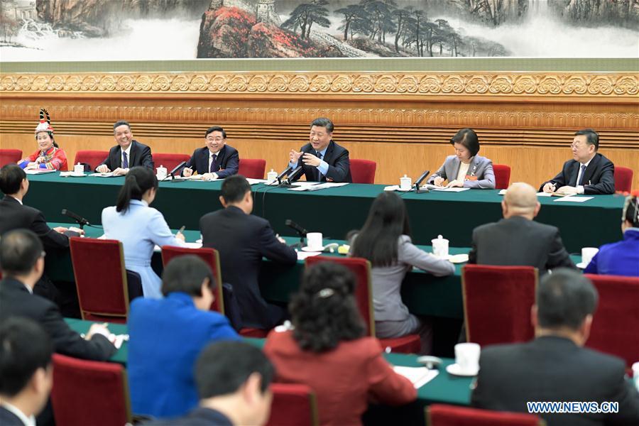 (两会)中国 - 北京 - 西金平 - 全国人大代表(中国)