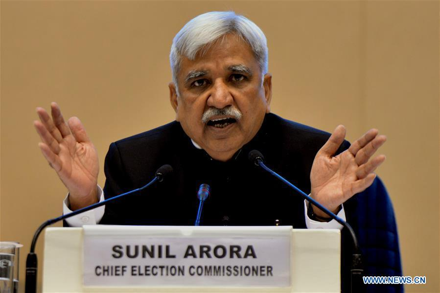 INDIA-GENERAL ELECTION-SCHEDULE-ANNOUNCEMENT