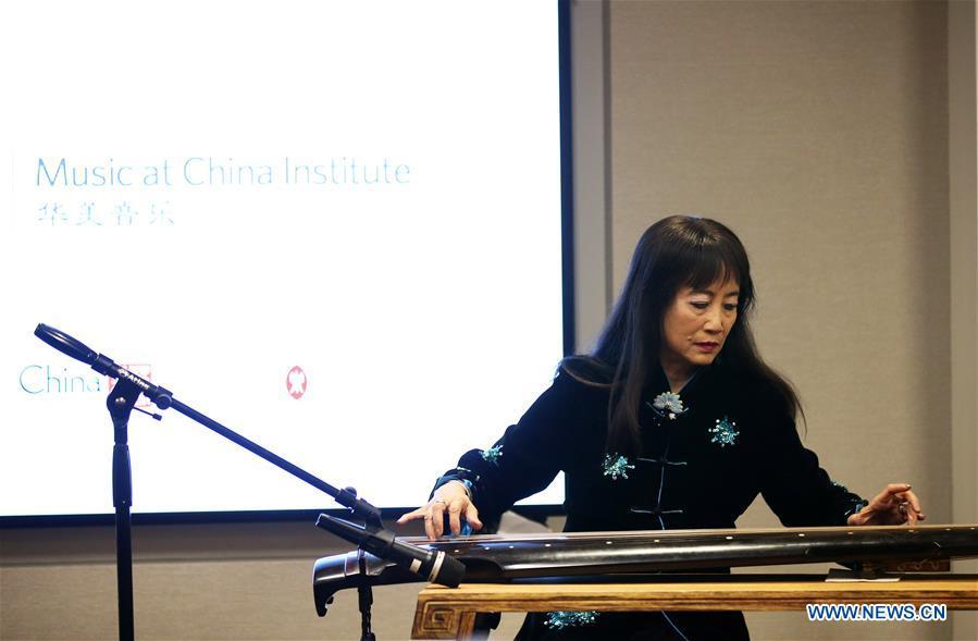 美国 - 纽约传统中国音乐教育计划 - 启动