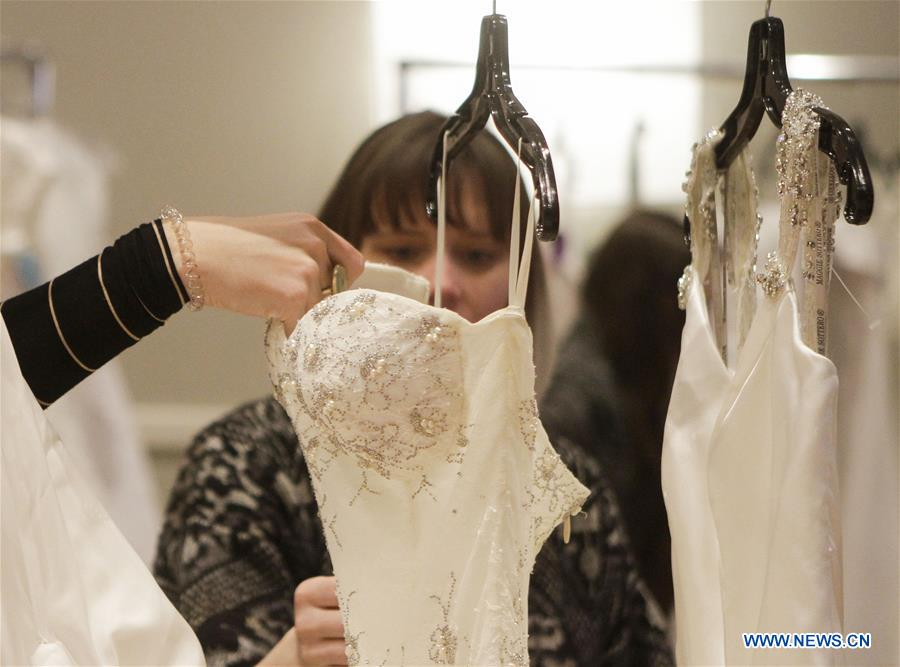 Annual Bridal Swap Event Held In Vancouver Canada Xinhua