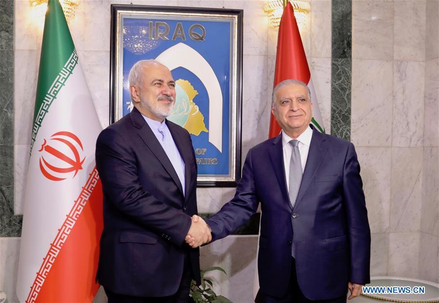 IRAQ-BAGHDAD-IRANIAN FM-VISIT