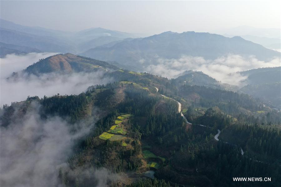CHINA-SANJIANG-SCENERY-MIST (CN)