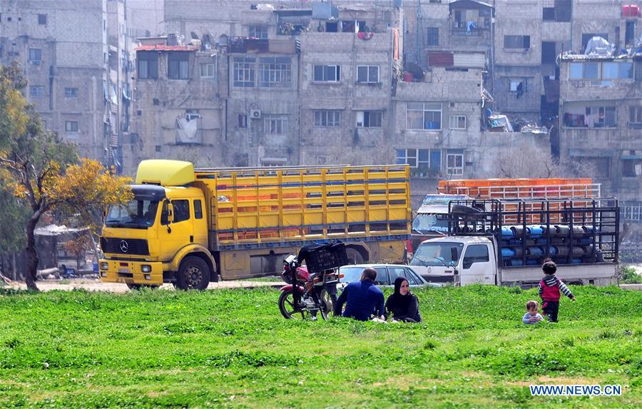 SYRIA-DAMASCUS-SPRING-EASTERN GHOUTA