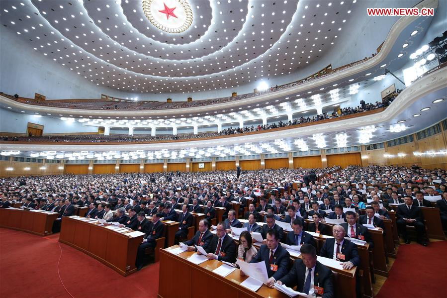 (TWO SESSIONS)CHINA-BEIJING-CPPCC-CLOSING MEETING (CN)