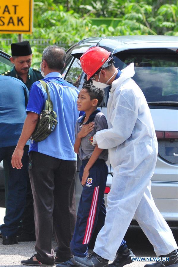 MALAYSIA-PASIR GUDANG-POLLUTION