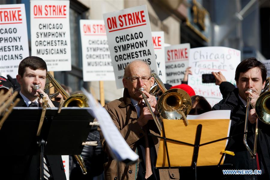 U.S.-CHICAGO-CSO-STRIKE
