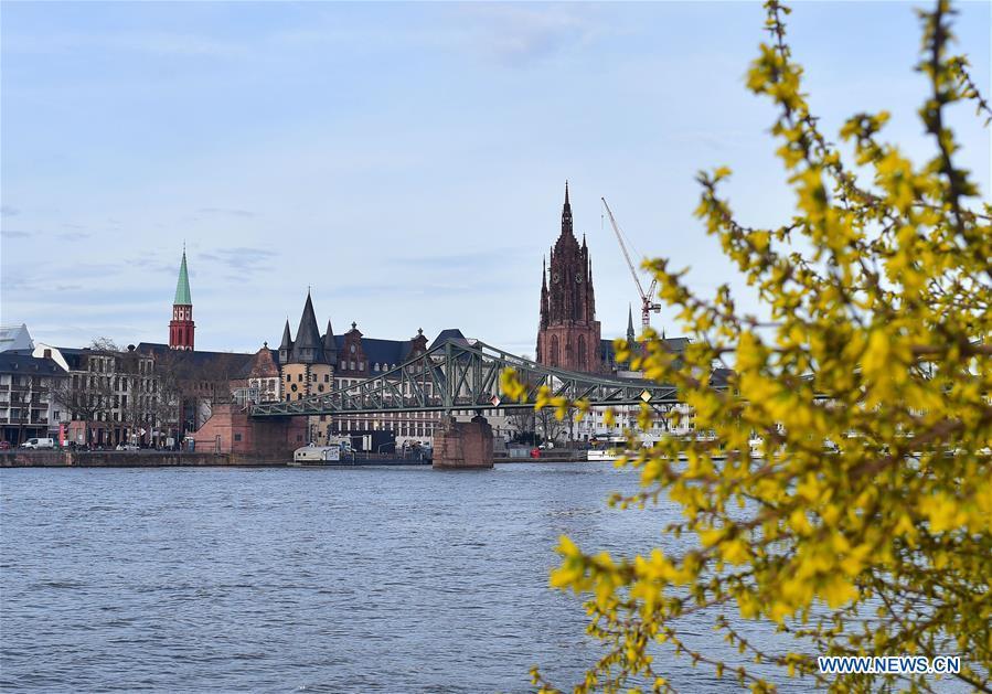 德国 - 法兰克福 - 春天 - 日常生活