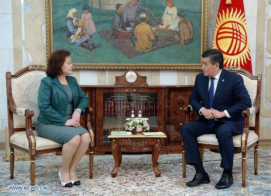 KYRGYZSTAN-BISHKEK-中国 - 新大使