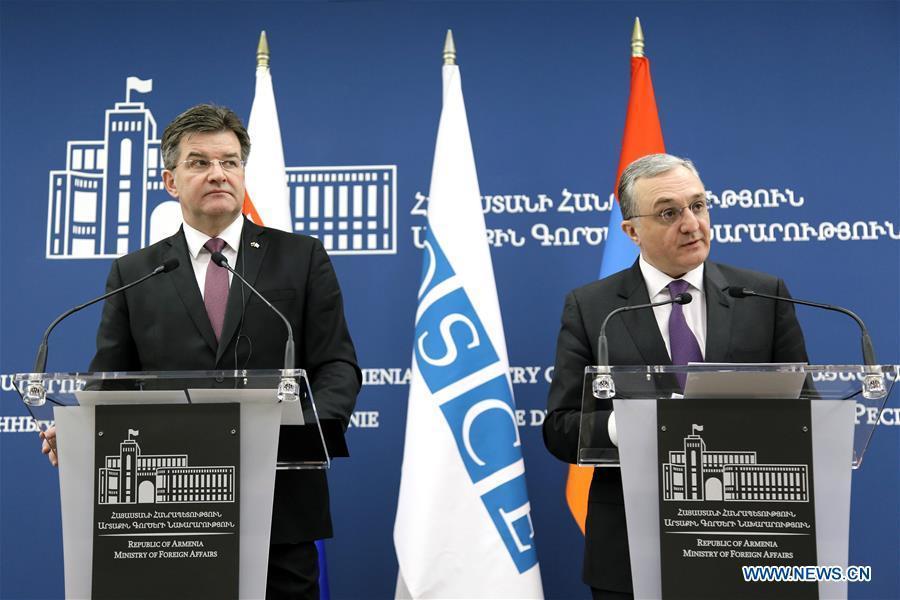 亚美尼亚 - 耶烈万 - 欧安组织主席 - 办公室 - 访问
