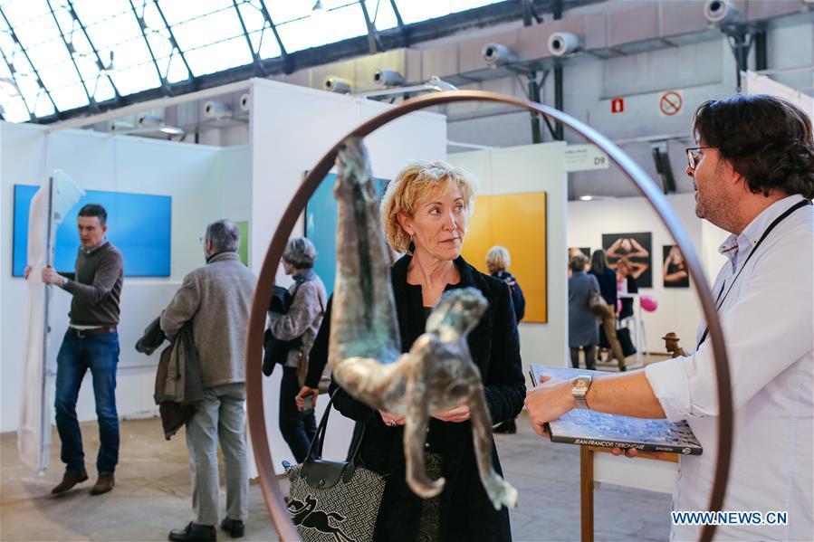 比利时 - 布鲁塞尔 - 经济实惠的艺术博览会