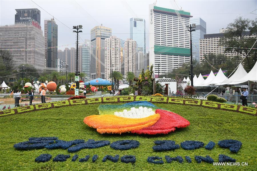 CHINA-HONG KONG-FLOWER SHOW (CN)