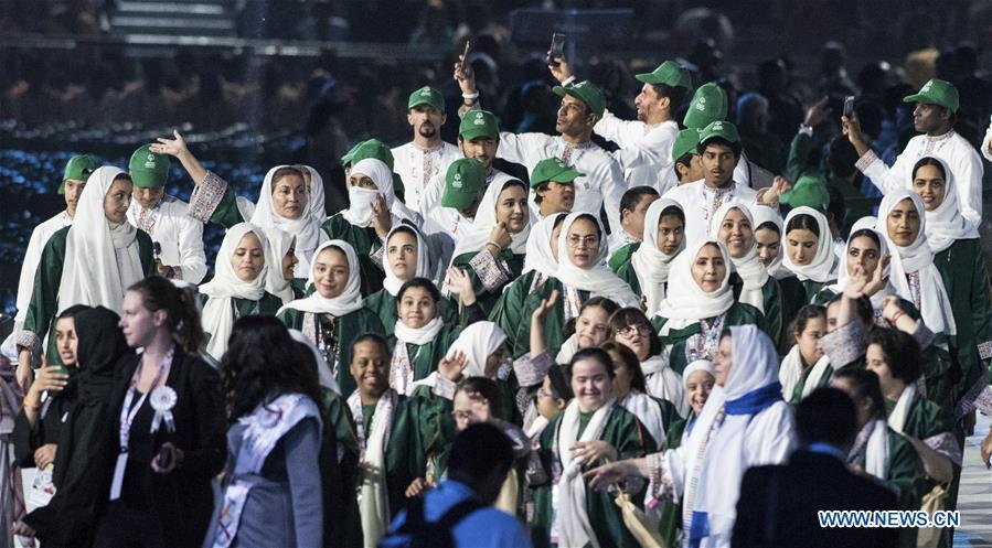 (SP)UAE-ABU DHABI-SPECIAL OLYMPICS-OPENING