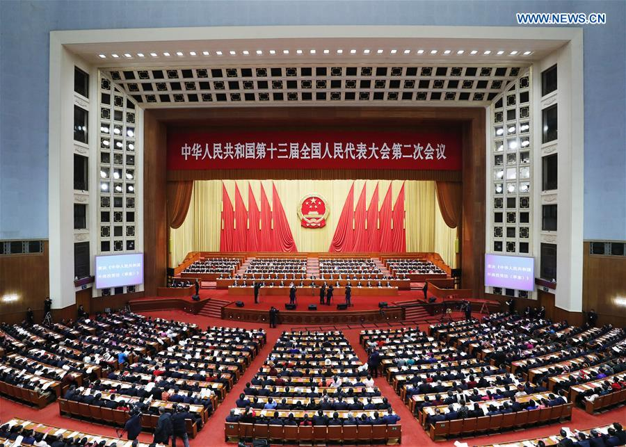 Xinhua Headlines: China's key political meetings secure pivotal underpinning for all-round well-off society