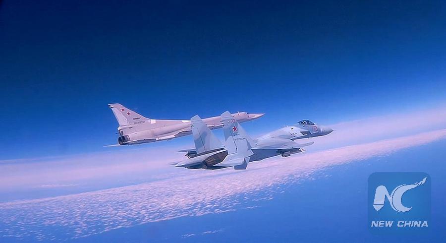 Russian bombers patrol Black Sea