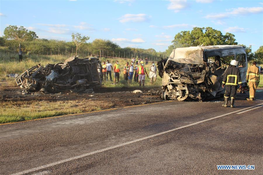 Namibian president offers condolences after crash
