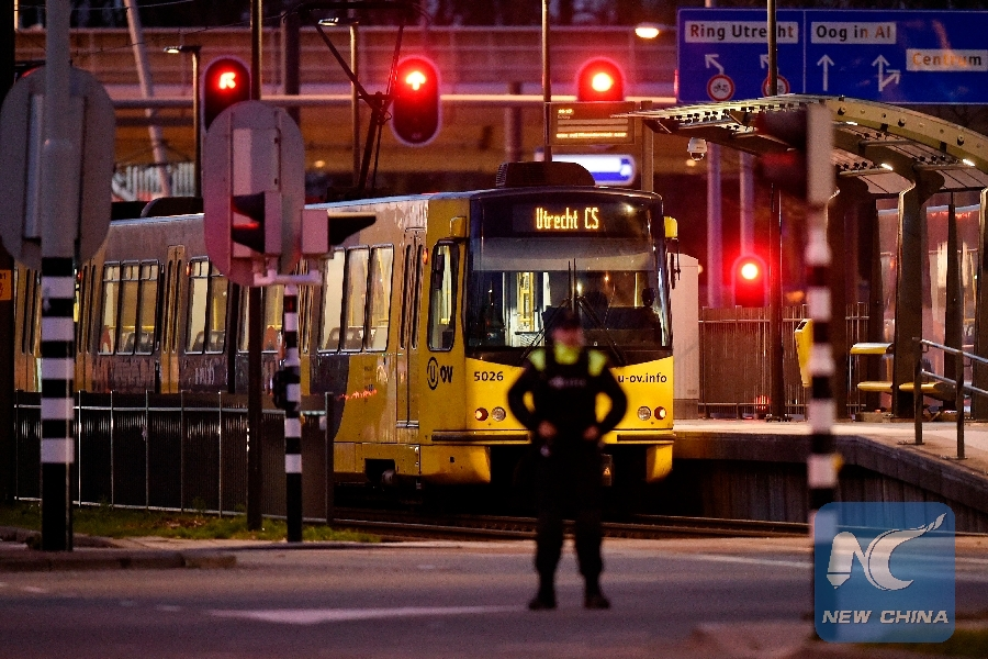 Turkey condemns Netherlands tram shooting