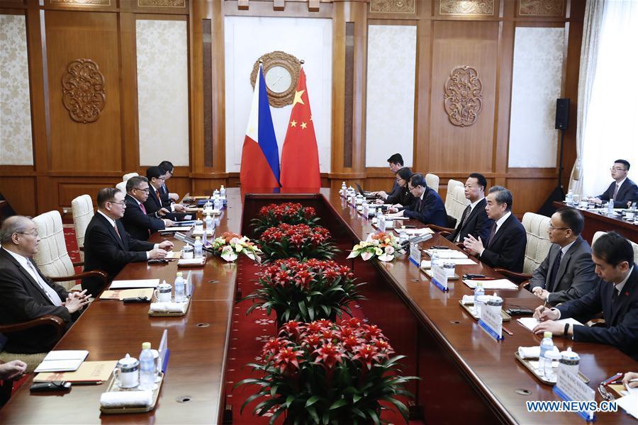 CHINA-BEIJING-WANG YI-THE PHILIPPINES-TALKS (CN)