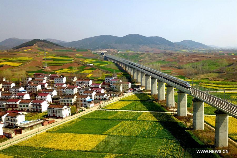 #CHINA-HANZHONG-SPRING-TRAIN (CN)