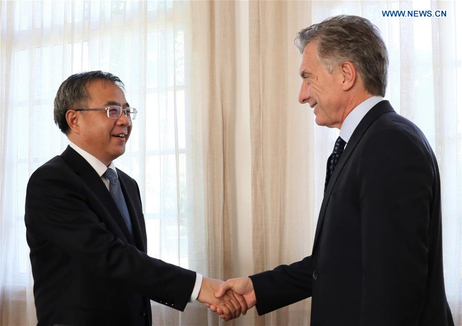 Argentina, China vow to strengthen ties, deepen cooperation - Xinhua