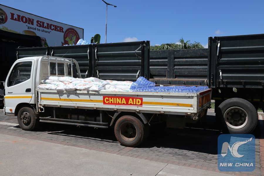China donates 200,000 USD to cyclone victims in Zimbabwe