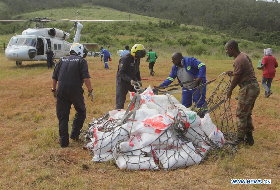 ZIMBABWE-CHIPINGE-CYCLONE IDAI-EMERGENCY AIDS