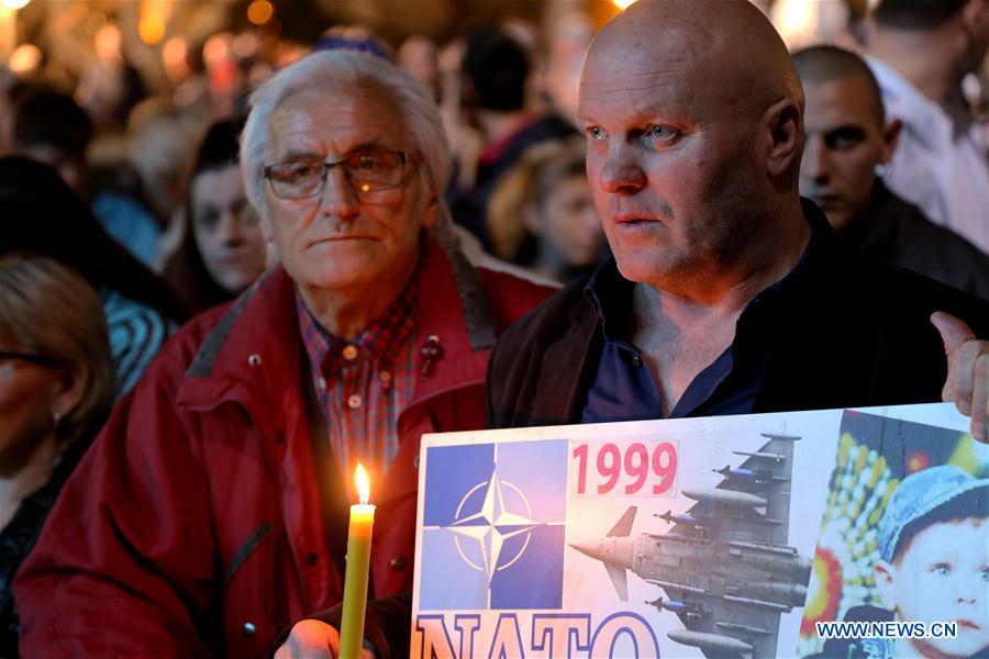 塞尔维亚记得20年来北约轰炸受害者