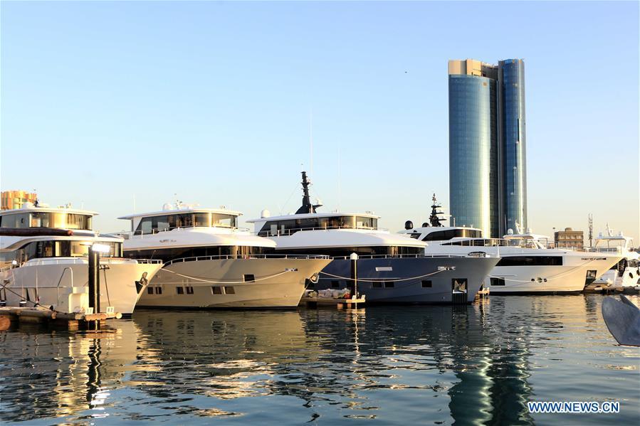7th Kuwait Yacht Show held at Marina Crescent in Kuwait City