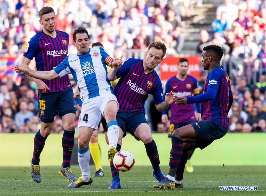 Image result for Barcelona 2 - 0 RCD Espanyol + messi