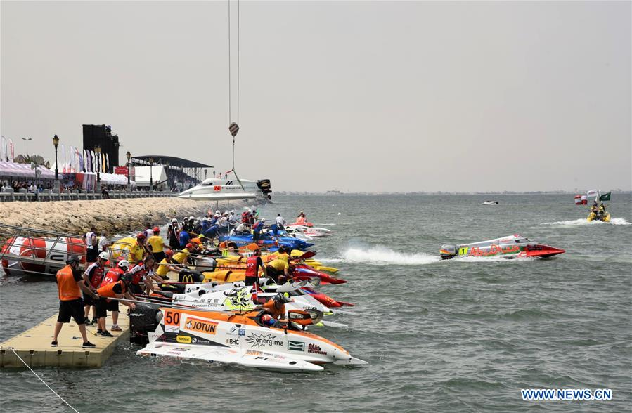 F1 powerboating championship in Saudi Arabia cancelled for rough